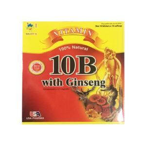 10B With Ginseng Hộp 100 Viên - Bồi Bổ Sức Khỏe