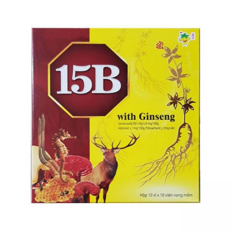 15B With Ginseng