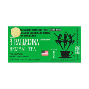 3 Ballerina Herbal Tea Hộp 18 Gói - Hạn Chế Mỡ Thừa