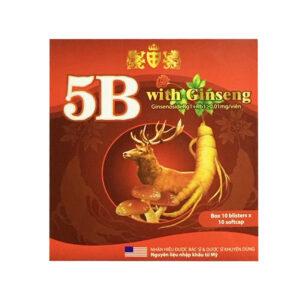 5B With Ginseng Hộp 100 Viên - Kích Thích Tiêu Hóa, Ăn Ngon