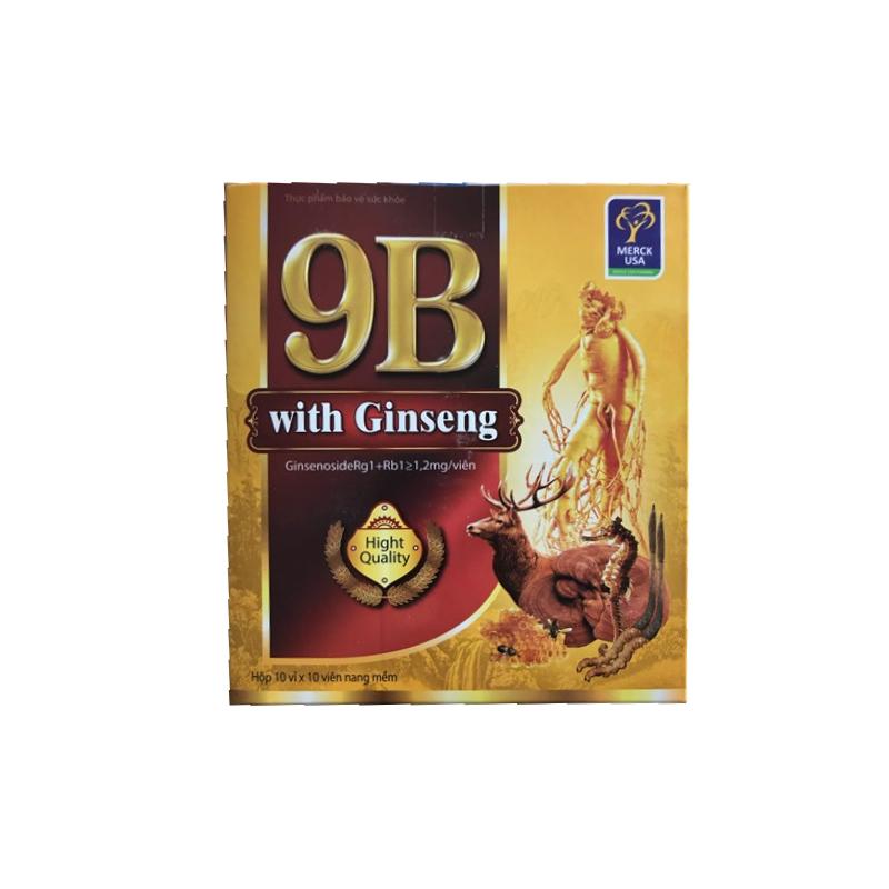 9B With Ginseng Hộp 100 Viên
