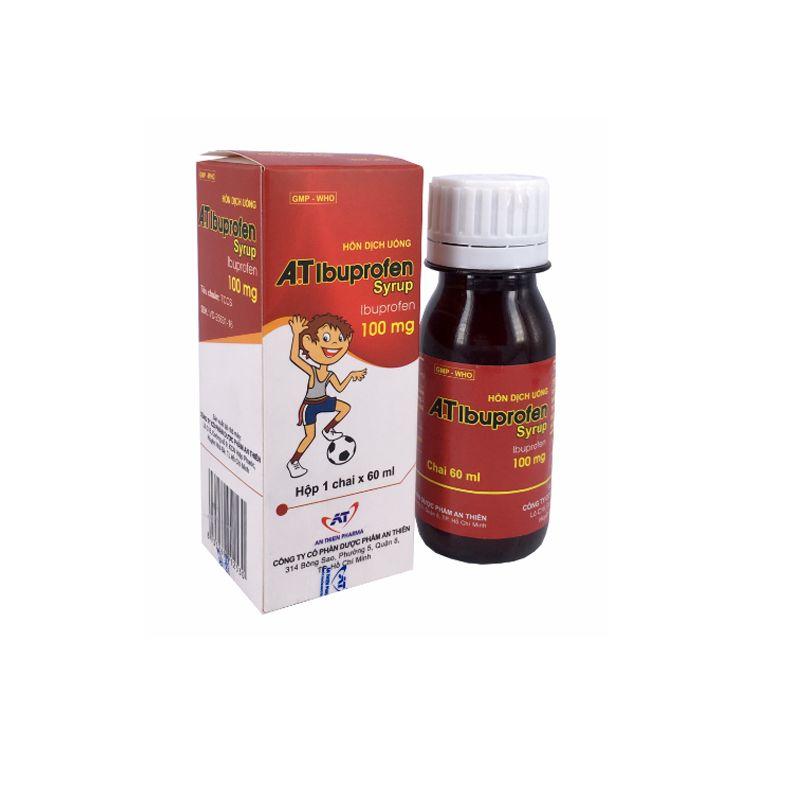 A T Ibuprofen Chai 60ml