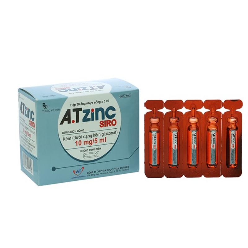 A.T Zinc Hộp 30 Ống