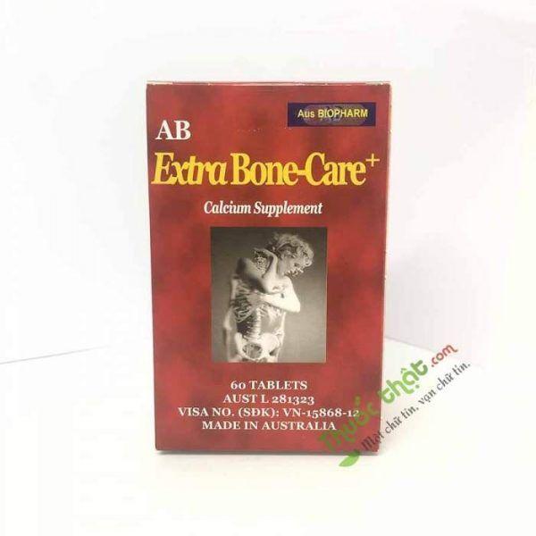 AB Extrabone Care+ Hộp 60 viên - Bổ sung vitamin, khoáng chất