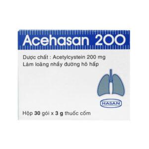 Acehasan200 Hộp 100 viên - Long đờm, tiêu đờm