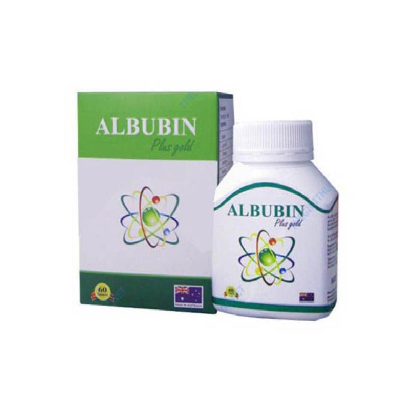 Albubin Plus Gold Hộp 60 Viên