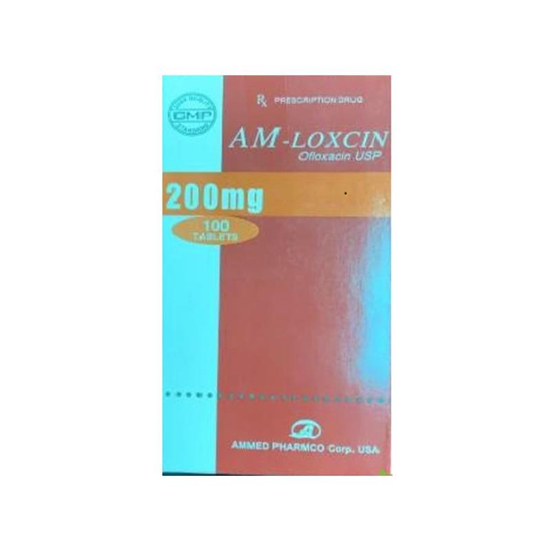 Am Loxcin 200mg Hộp 100 viên - Điều trị các bệnh nhiễm trùng