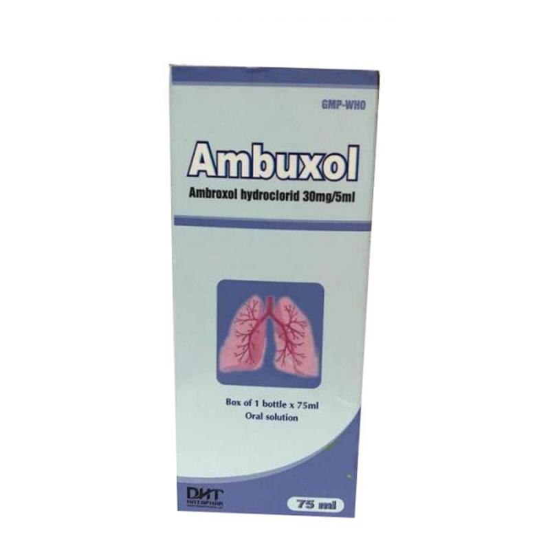 Dung Dịch Uống Ambuxol 30mg-Tiêu Chất Nhầy Đường Hô Hấp