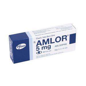 Thuốc Amlor 5mg Hộp 30 Viên - Điều Trị Huyết Áp