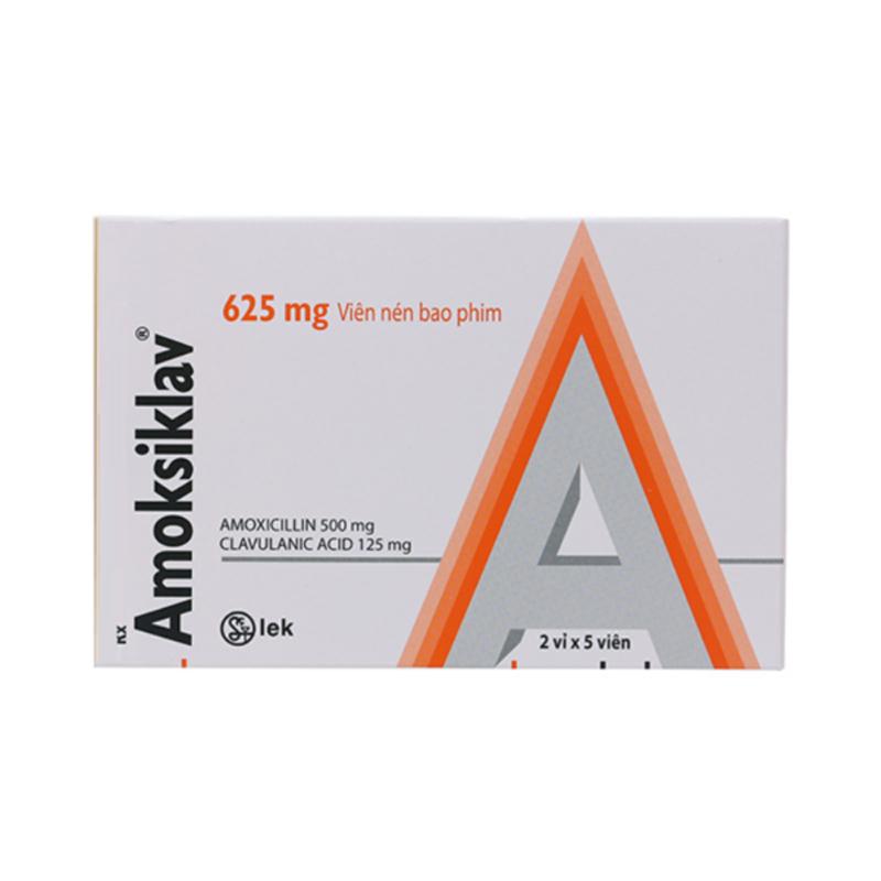 Thuốc Amoksiklav 625mg-Điều Trị Bệnh Nhiễm Khuẩn