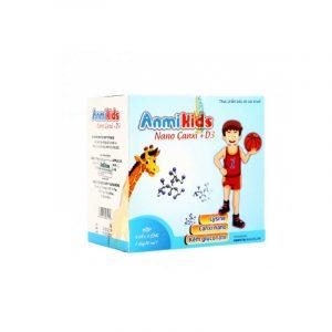 Anmikids - Hộp 20 Ống - Bổ Sung Các Vitamin Thiết Yếu Cho Trẻ