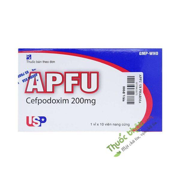 Thuốc Apfu 200Mg Hộp 10 Viên - Điều TRị Nhiễm Khuẩn