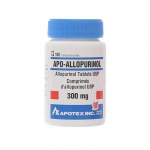 Apo Allopurinol Lọ 100 Viên - Điều Trị Bệnh Gout
