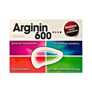 Arginin 600 Hộp 60 Viên - Giúp Tăng Cường Chức Năng Gan