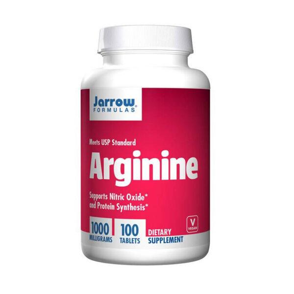 Viên uống Arginine jarrow 100 viên - Bổ gan