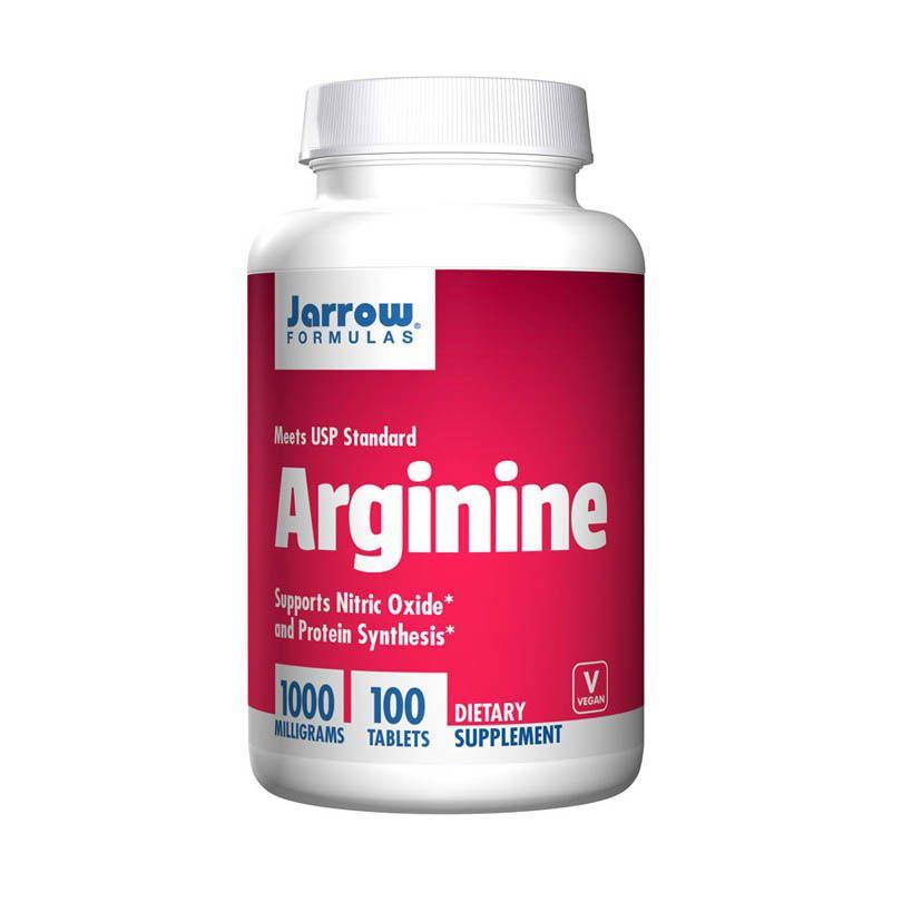 Arginine jarrow 100 viên