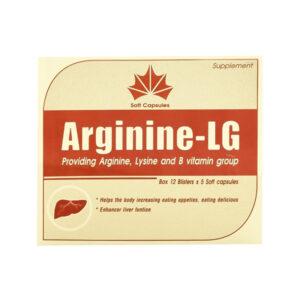 Ariginine LG Hộp 60 Viên - Tăng Cường Sức Khoẻ