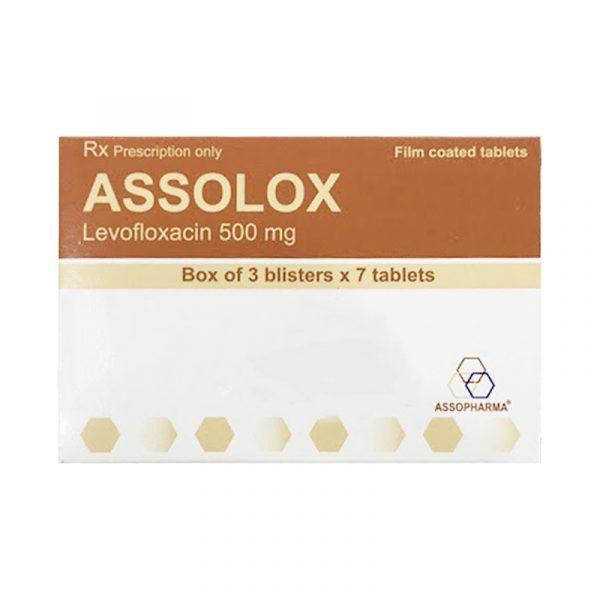 Thuốc Assolox - Hộp 21 Viên - Điều Trị Nhiễm Trùng