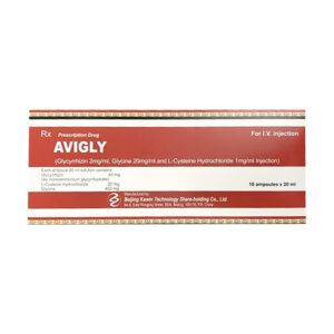 Avigly Hộp 10 Ống - Điều Trị Viêm Da, Mày Đay