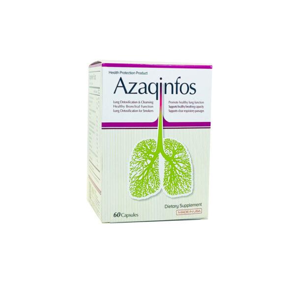 Thực phẩm chức năng Azaqinfos hộp 6 vỉ - Bổ phổi