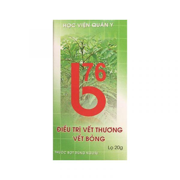 B76 - Kem Điều Trị Vết Thương Vết Bỏng Học Viện Quân Y