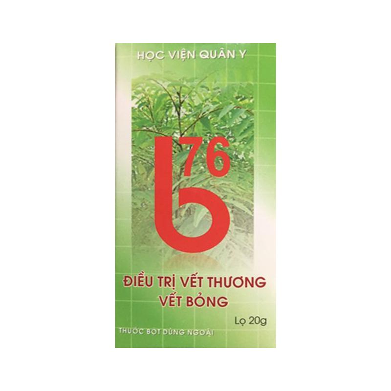 B76 Lọ 20g - Điều Trị Vết Thương Bỏng