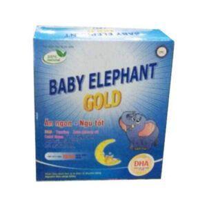 Baby Elephant Gold - Hộp 20 Ống - Bổ Sung Vitamin DHA