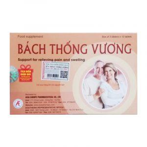 Bách Thống Vương - Hộp 30 Viên - Giảm Đau, Tiêu Sưng