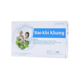 Bảo Khí Khang Hộp 20 Viên - Giúp Giảm Ho, Khó Thở