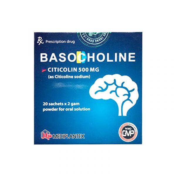 Basocholine Hộp 20 gói - Điều trị đau thần kinh