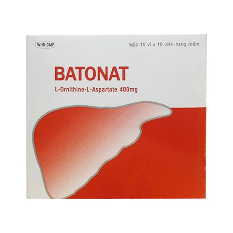 Batonat Hộp 100 Viên - Điều Trị Bệnh Gan