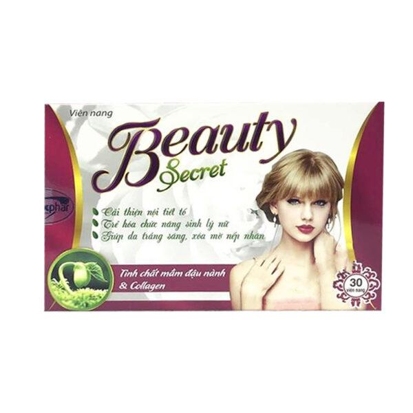 Beauty Secret Hộp 30 Viên - Cải Thiện Nội Tiết Tố Nữ
