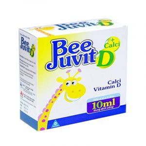 Bee Juvit D - Hộp 20 Ống - Bổ Sung Vitamin D Và Calcium