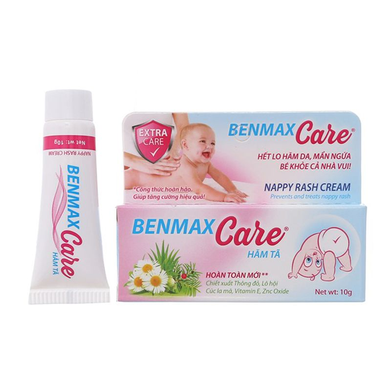 Benmax Care Tuýp 20g - Giảm Hăm Da, Mẩn Ngứa Ở Trẻ Nhỏ