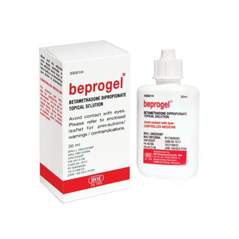 Beprogel Lọ 30ml - Điều trị các bệnh ngoài da