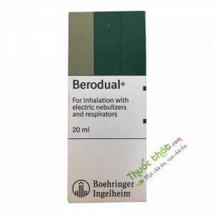 Thuốc Berodual khí dung 20ml - Điều trị hen phế quản