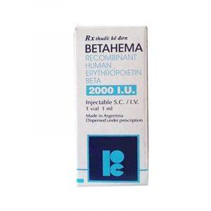 Thuốc Betahema - Hộp 1 Lọ - Điều Trị Thiếu Máu