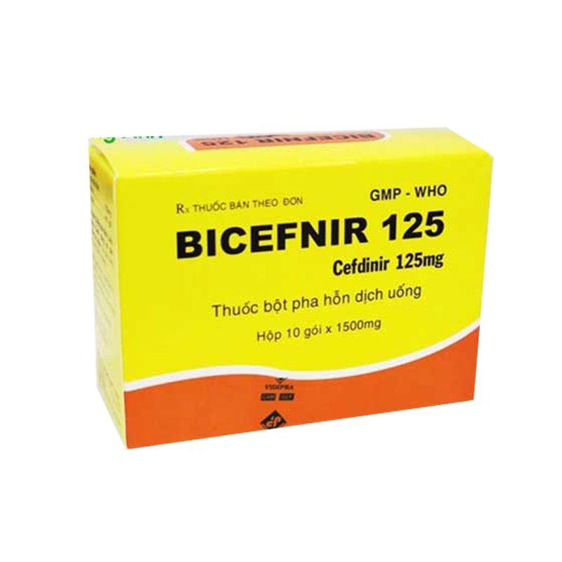 Thuốc Bicefnir 125mg