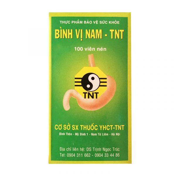 Bình Vị Nam TNT Lọ 100 Viên - Điều Trị Loét Dạ Dày, Tá Tràng