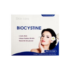 Biocystine Hộp 60 Viên  - Chống Oxy Hoá, Hạn Chế Lão Hoá