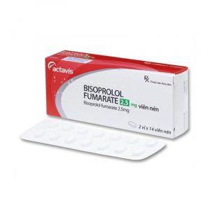 Thuốc Bisoprolol Fumarate 2.5 - Hộp 28 Viên - Hạ Huyết Áp