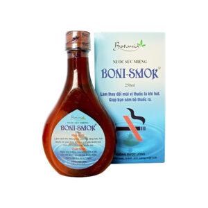 Boni-Smok - Nước súc miệng giúp sớm bỏ thuốc lá  (250ml)