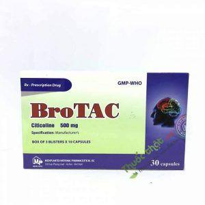 Thuốc Brotac 500mg-Điều Trị Rối Loạn Ý Thức, Parkinson