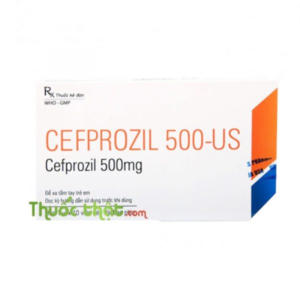 Thuốc Cefprozil 500mg - Kháng Sinh Kháng Khuẩn