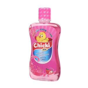 Nước Súc Miệng Chicki - Chai 250 ml - Ngừa Sâu Răng Ở Trẻ