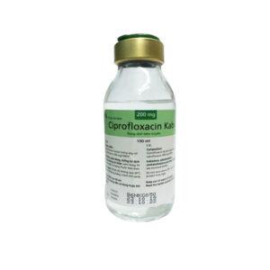Ciprofloxacin Chai 100ml- Dịch Tiêm Truyền Trị Nhiễm Khuẩn