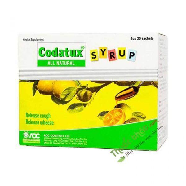 Codatux Syrup Hộp 30 Gói- Giúp Giảm Ho Hiệu Quả