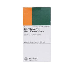 Thuốc Combivent - Hộp 10 Ống - Điều Trị Co Thắt Phế Quản