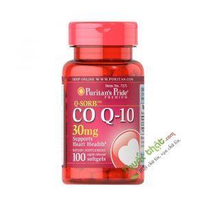 Co Q10 Lọ 100 Viên - Tăng Cường Sức Khỏe Tim Mạch