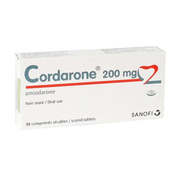 Thuốc Cordarone 200 - Hộp 30 Viên - Điều Trị Bệnh Tim Mạch